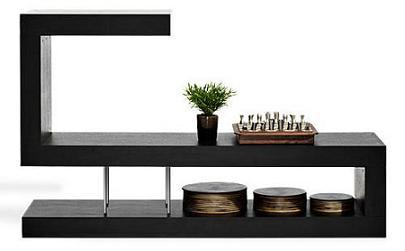 Soluciones decorativas para separar ambientes - Estanteria separar ambientes ...