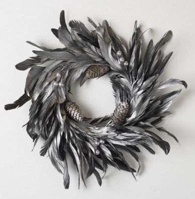 HS feather wreath