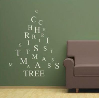 Árbol con mensaje