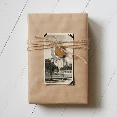 Utilizando fotos para personalizar el regalo