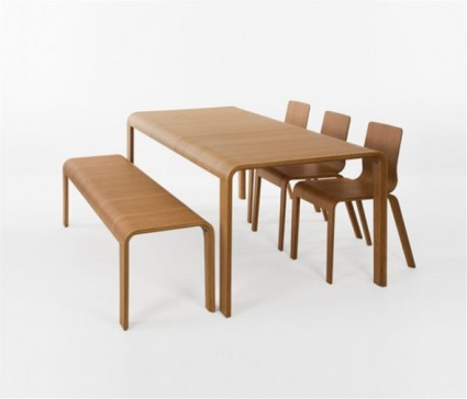 Eco-Friendly-Bamboo-Dining-Table-Design-for-Dining-Room-Furniture-by-Henrik-Tjaerby-590x504